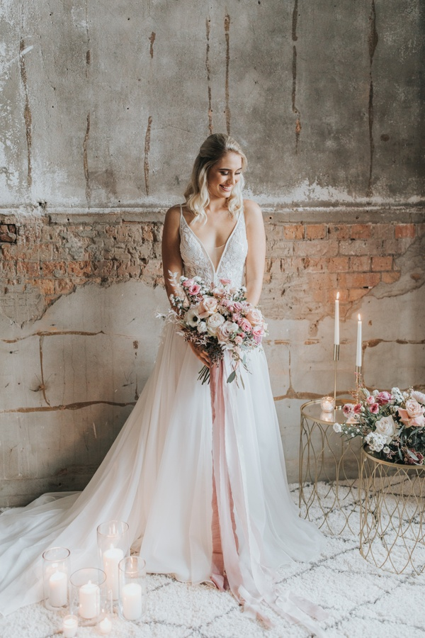 Fanya By Nicole Spose White Lily Couture Romantic Organza Bridal Gown With Plunging In 2020 Australian Wedding Dresses Beach Bridal Dresses Wedding Dresses Brisbane
