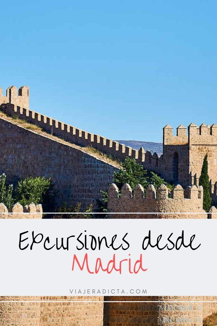 Excursiones Cerca De Madrid 7 Lugares Que Te Van A Enamorar Excursiones Cerca De Madrid Viajar Por España Viaje A Madrid