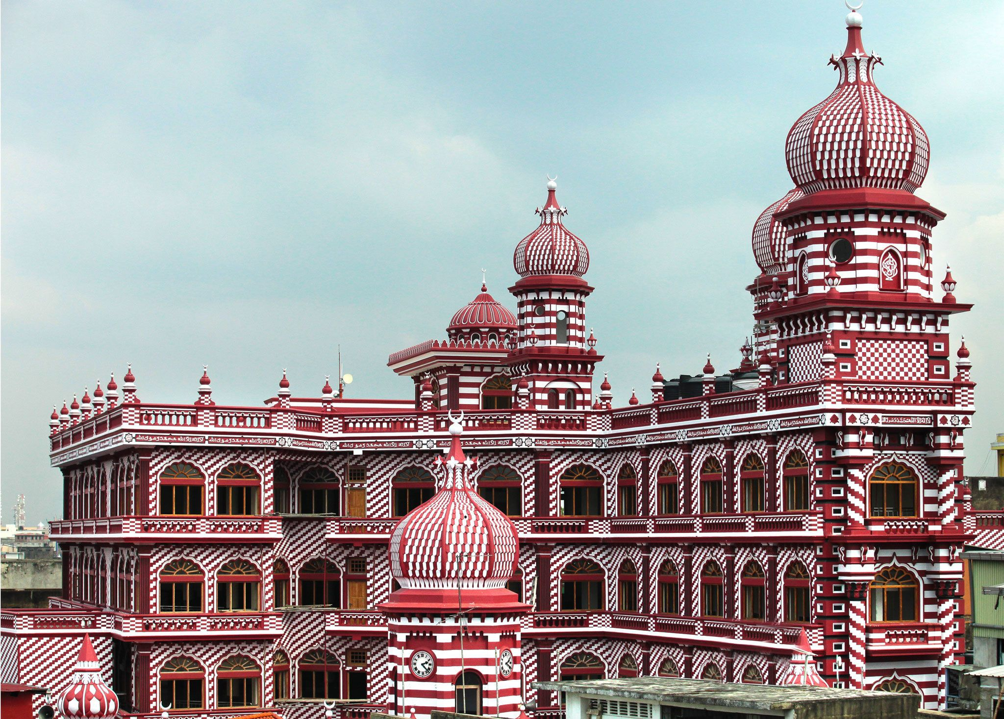 Red Mosque | Mosque, Beautiful mosques, Colombo