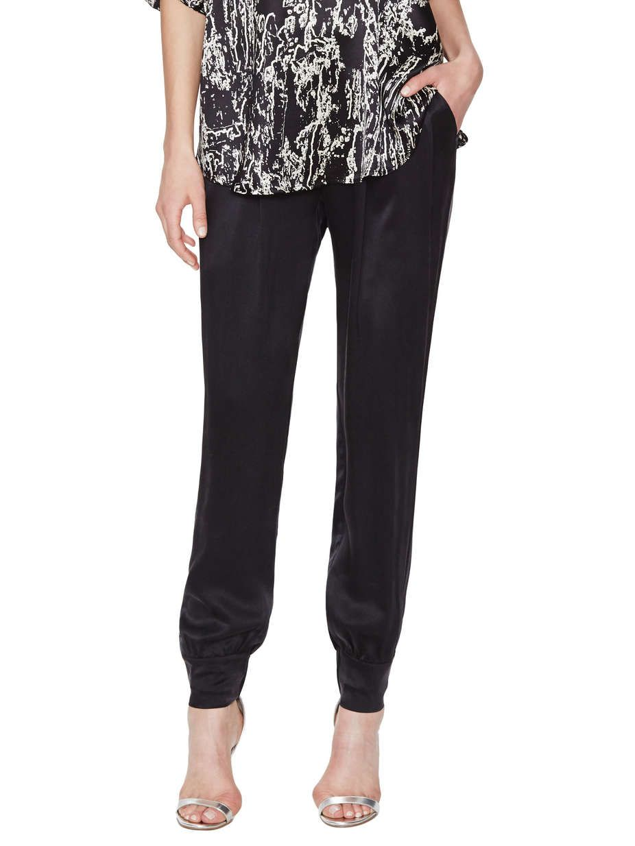 Monika Silk Track Pant by Catherine Malandrino at Gilt