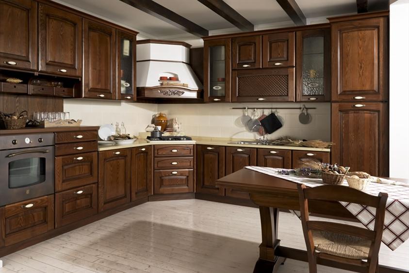 Axis Cucine Gloria classic kitchen cabinet modular system ...