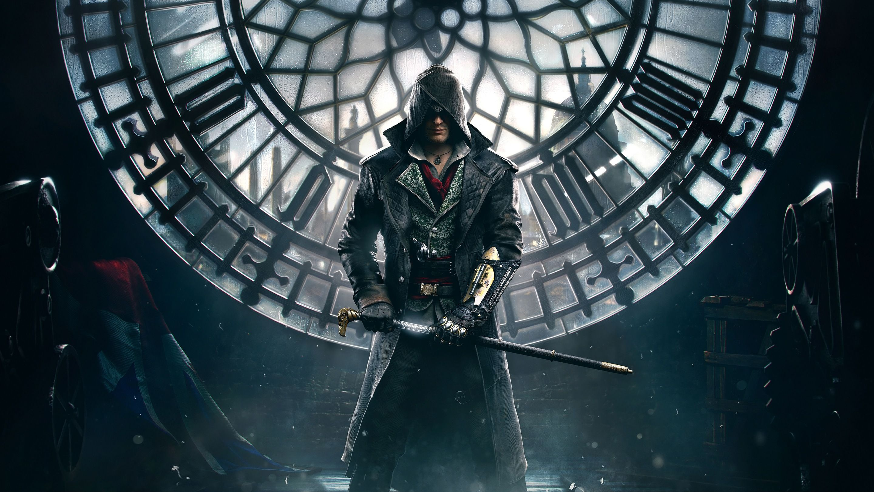 assassins creed syndicate wallpaper jacob frye high res 2880x1620