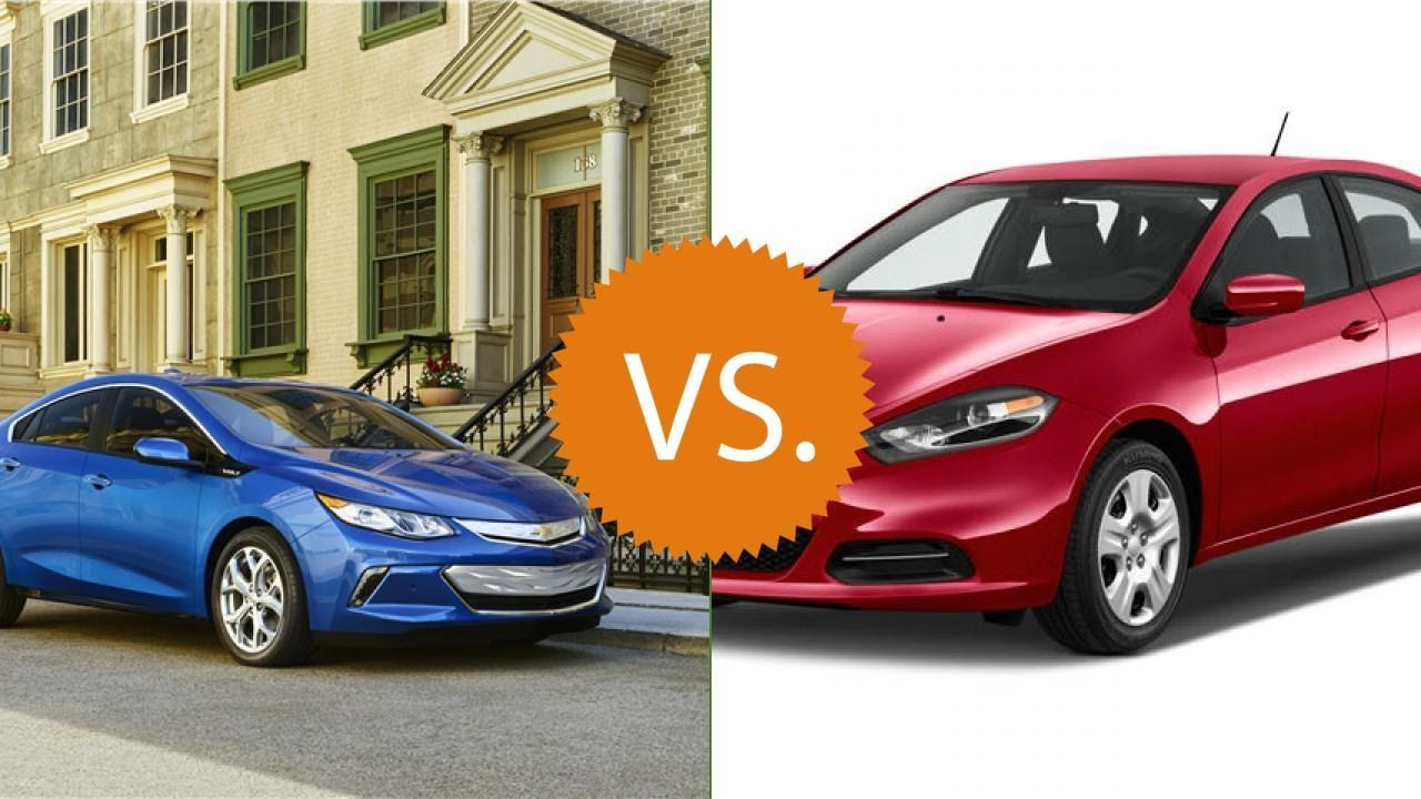 Compare 2016 Chevrolet Volt Vs 2016 Dodge Dart