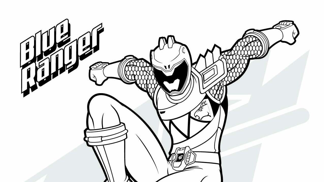 30 Elegant Power Ranger Coloring Pages in 2020 Power