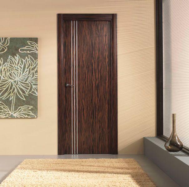 Modelo moderna 9600al ebano puertas pinterest for Modelos puertas interiores