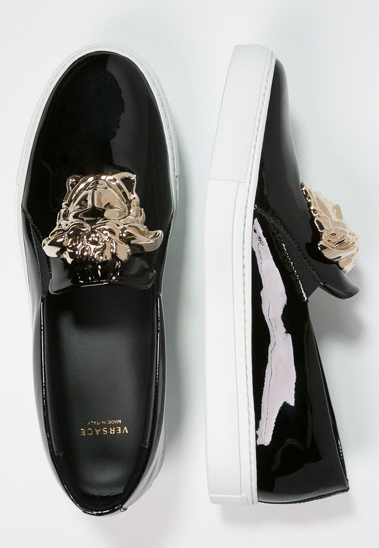 PALAZZO - Mocassins - nero   Chaussures-Femme   Pinterest   Versace ... 1220a16d3bc