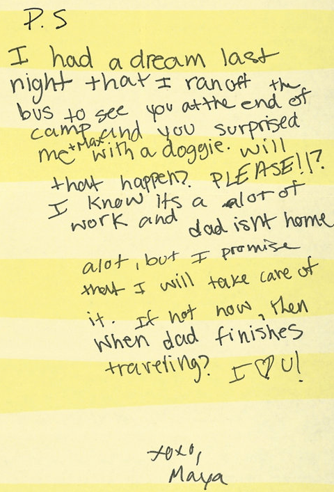 Hilariously Desperate Letters From Kids At Summer Camp