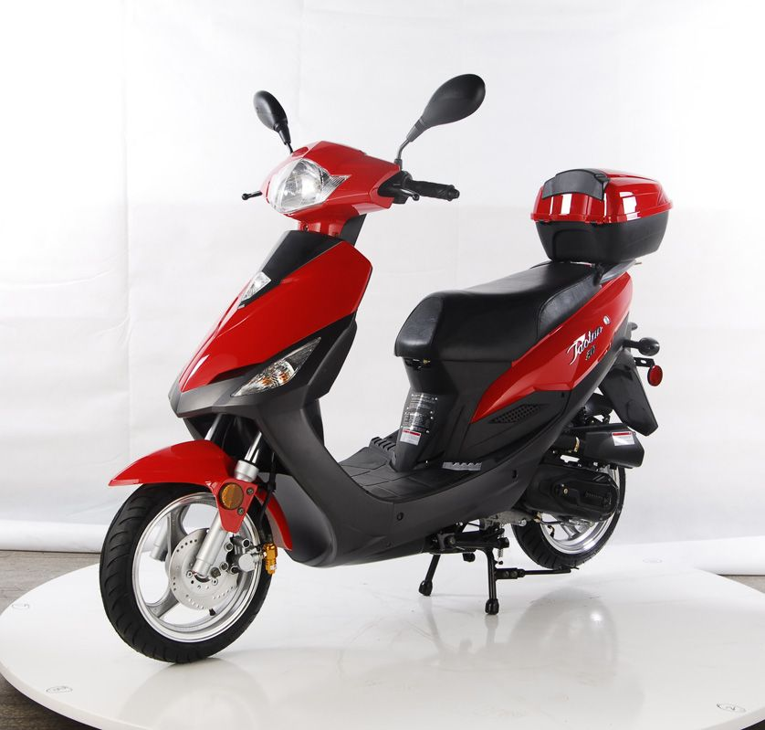 Used 50 cc mopeds 50cc gas scooters on ebay cheap for Garage scooter nice