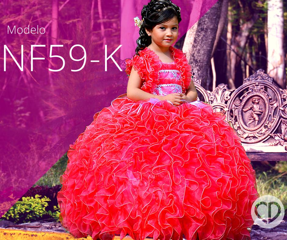 Encuentra este vestido disponible en http://chicdress.com.mx/ninas ...
