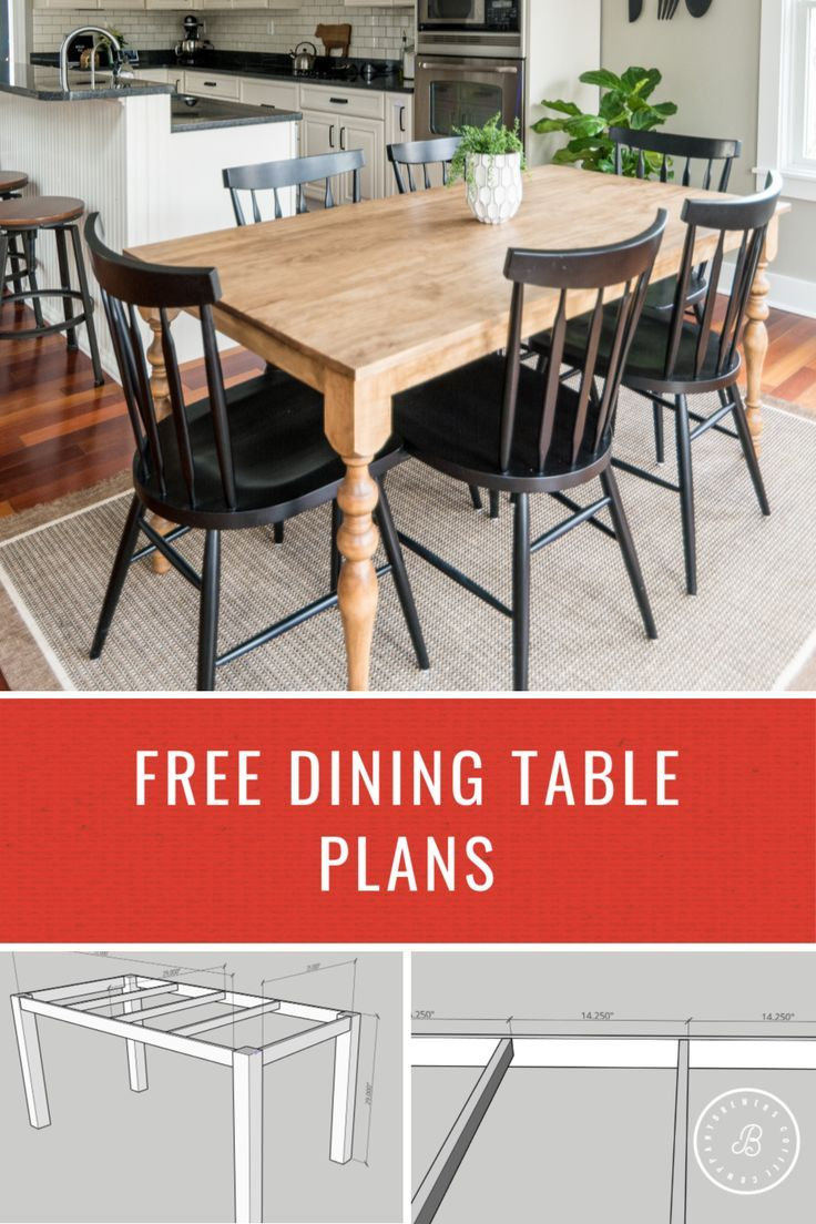 How To Build A Dining Table Decorating With Kids In 2020