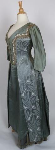 19th Century Emile Pasquier Gown