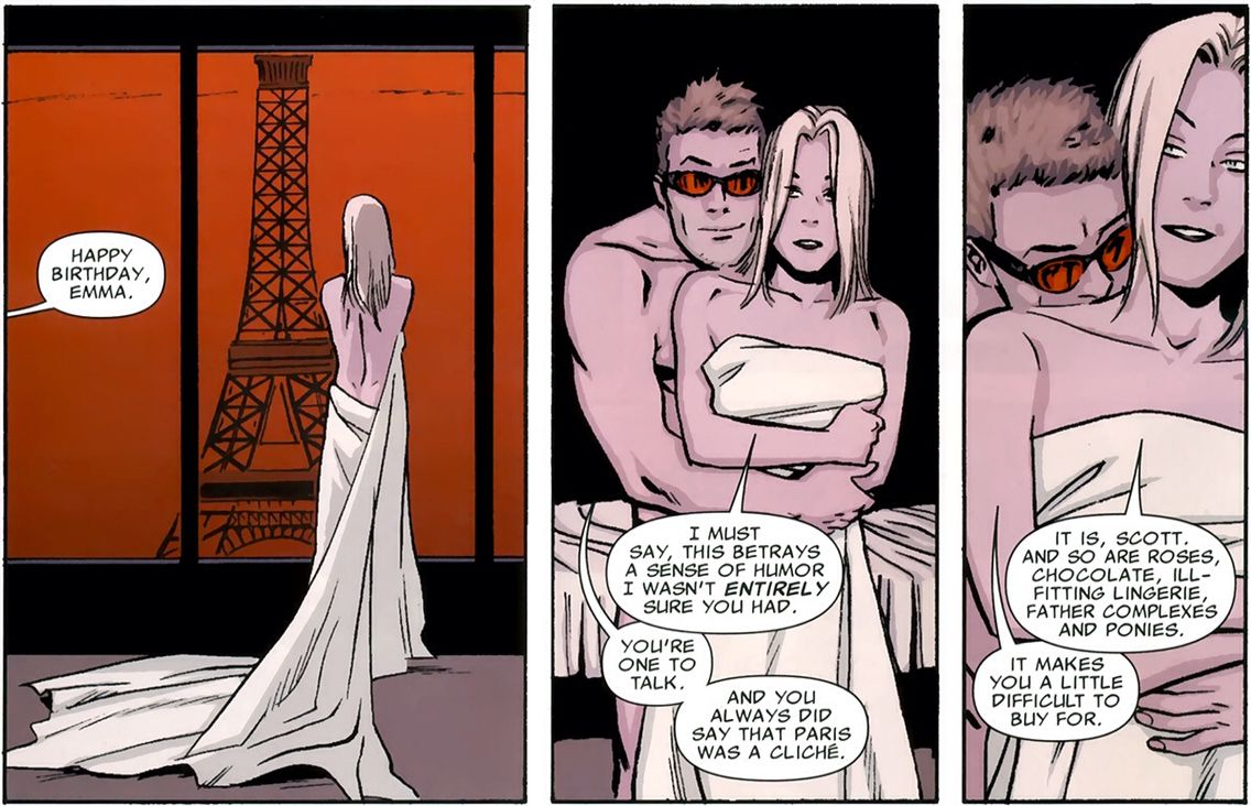 X Men Cyclops And Emma Frost Emma Frost And ...
