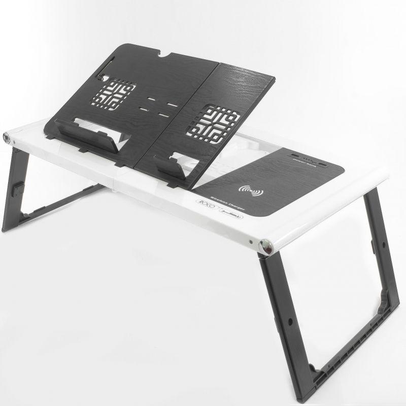 Roco Portable Laptop Table Black White Portable Laptop Table Laptop Table Computer Supplies