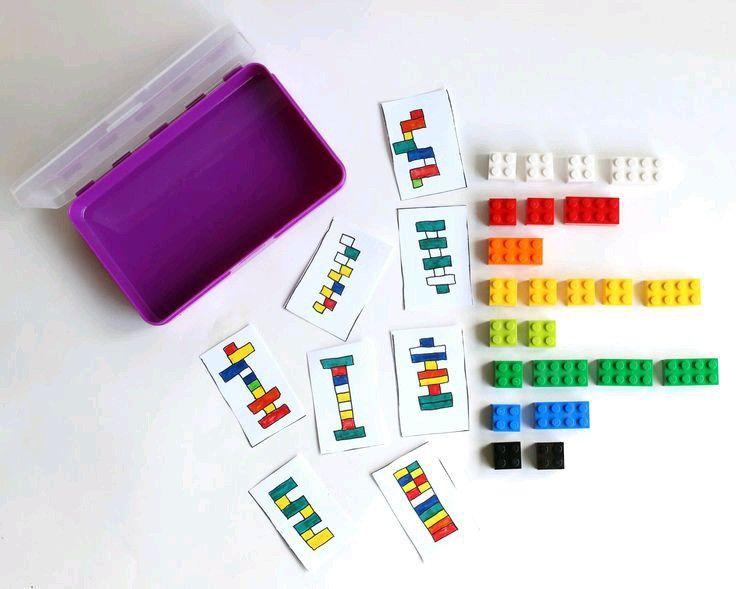 Idea juego piezas construcción o legos