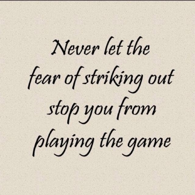 Size: 8x10 Dont let the fear of striking out hold.. quote by Babe Ruth laser engraved on wooden plaque