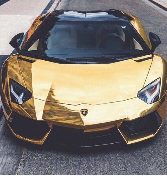 Gold Black Lamborghini Fast Expensive Car With Images Fancy