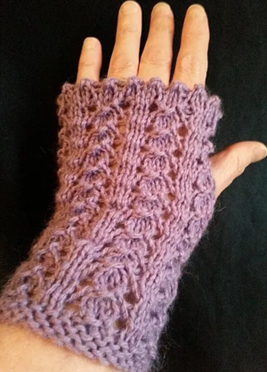 Downton Abbey Knit Fingerless Gloves | gloves & mittens ...