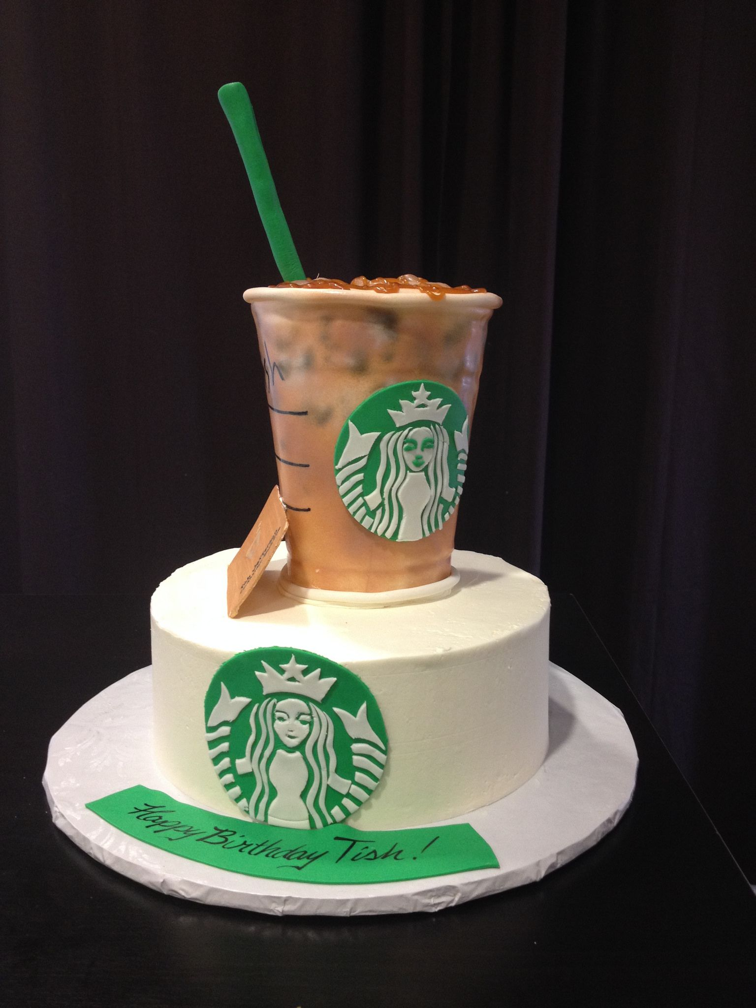 Prime Starbucks Cake With Images Starbucks Cake Crazy Birthday Funny Birthday Cards Online Fluifree Goldxyz