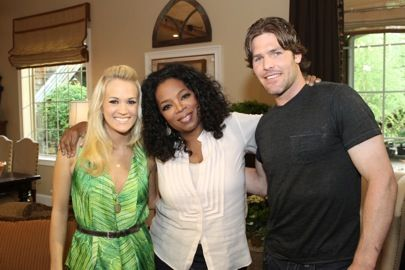 carrie, mike and oprah