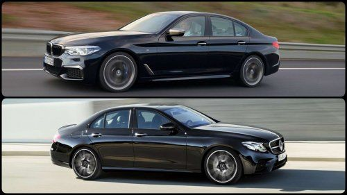 Bmw M550i Vs Mercedes Amg E43 From 0 To 155 Mph Mercedes Amg
