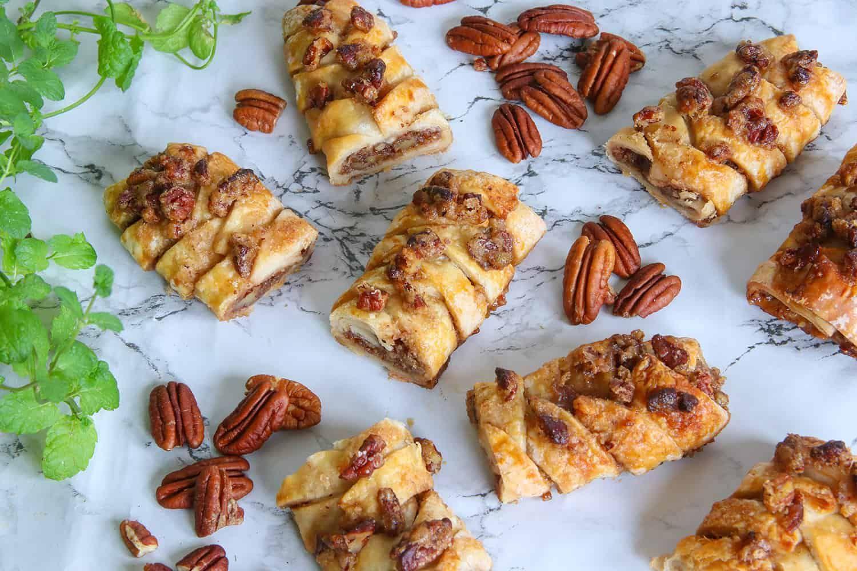 My Gluten Free Maple Pecan Plait Danish Recipe (dairy free
