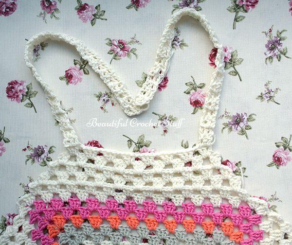 Granny Square Halter Top Free Pattern | crochet | Pinterest | Granny ...