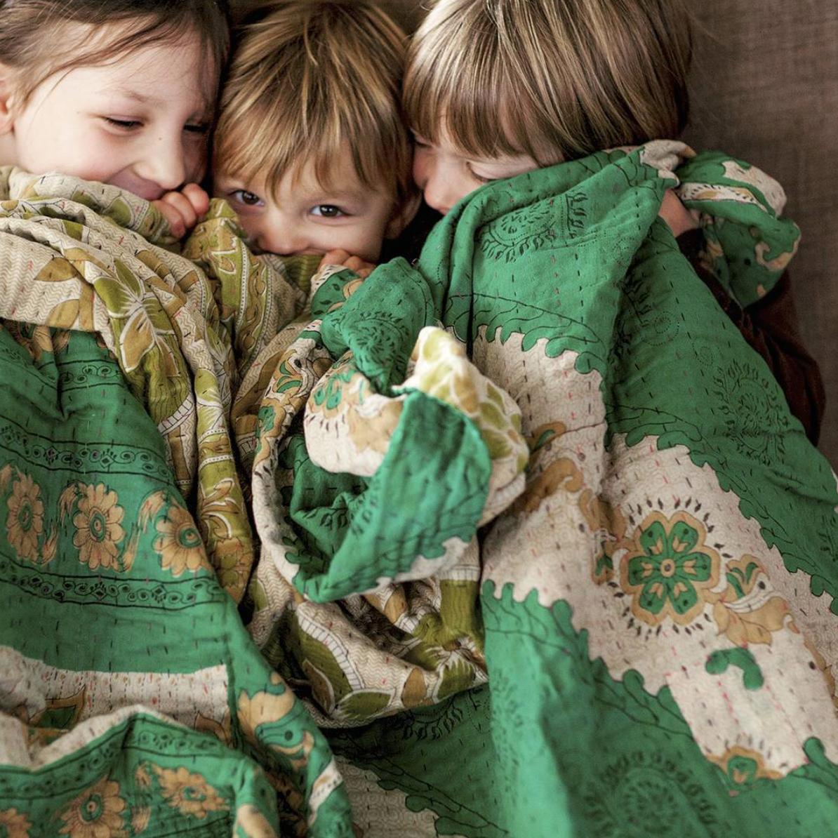 Fair Trade Kantha Quilts Bedding Shopdignify Kantha Quilt Baby Park Bohemian Kids