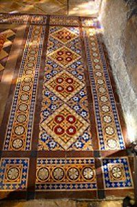 Fantastic Encaustic Tiles Red By The Vintage Floor Tile Company Ultimate In Recycling