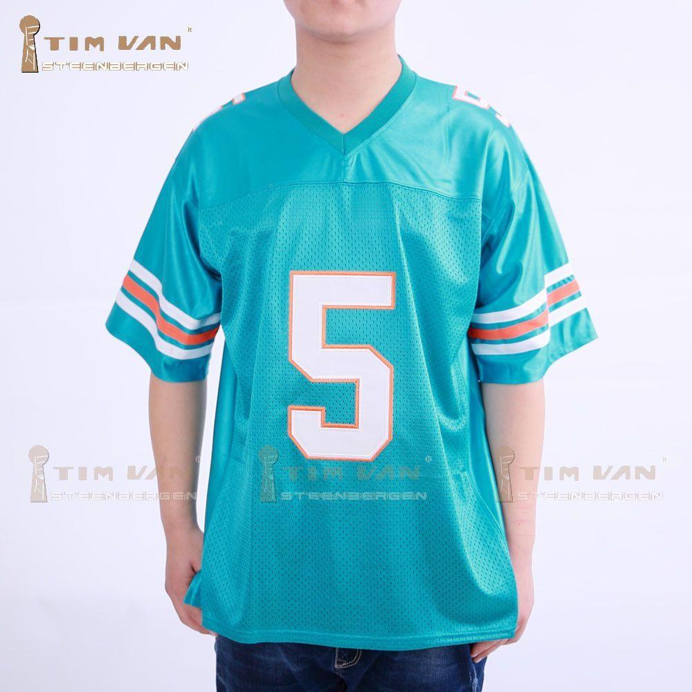 TIM VAN STEENBERGEB Ray Finkle 5 Novelty Football Jersey ...