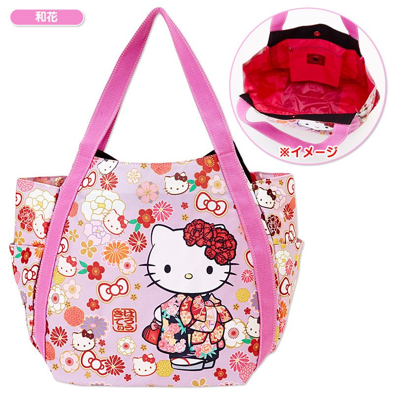 b61ba894a Hello Kitty print tote bag Sanrio online shop - official mail order site