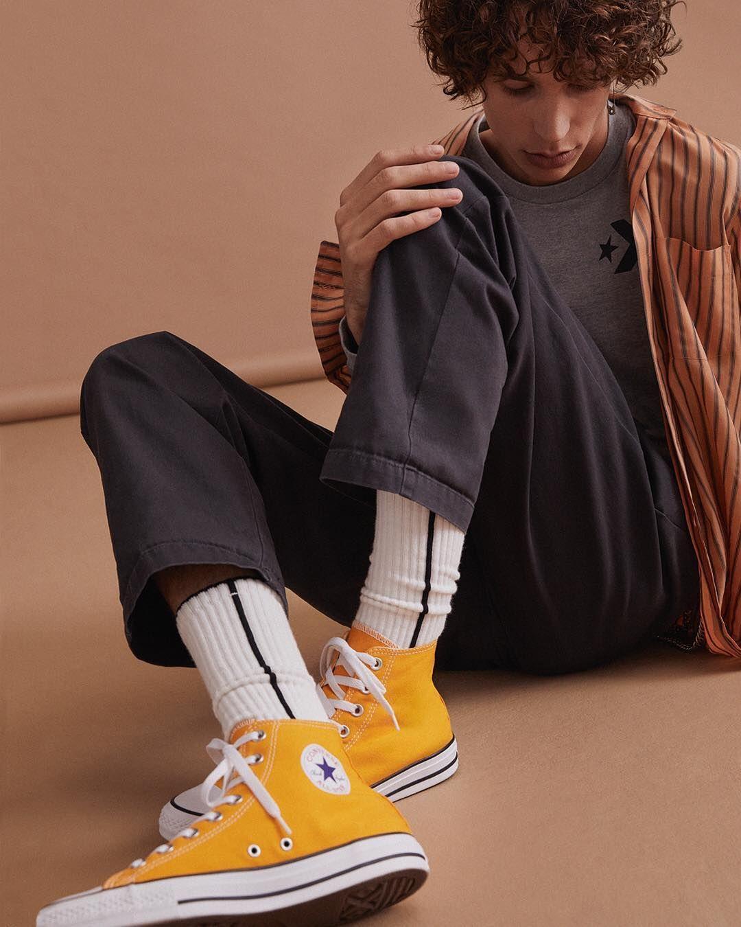 converse orange kinder