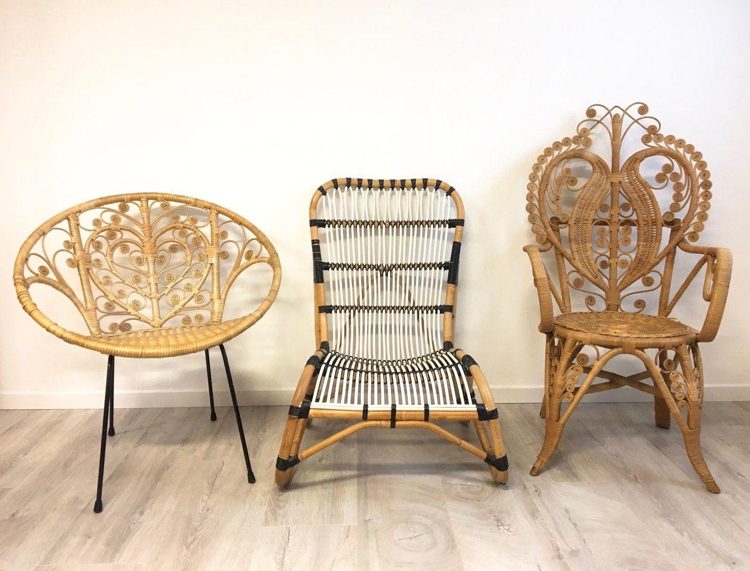 La Petite Brocante French Vintage Antique Furniture And Homeware Mobilier De Salon Decoration Salon Appartement Fauteuil Rotin