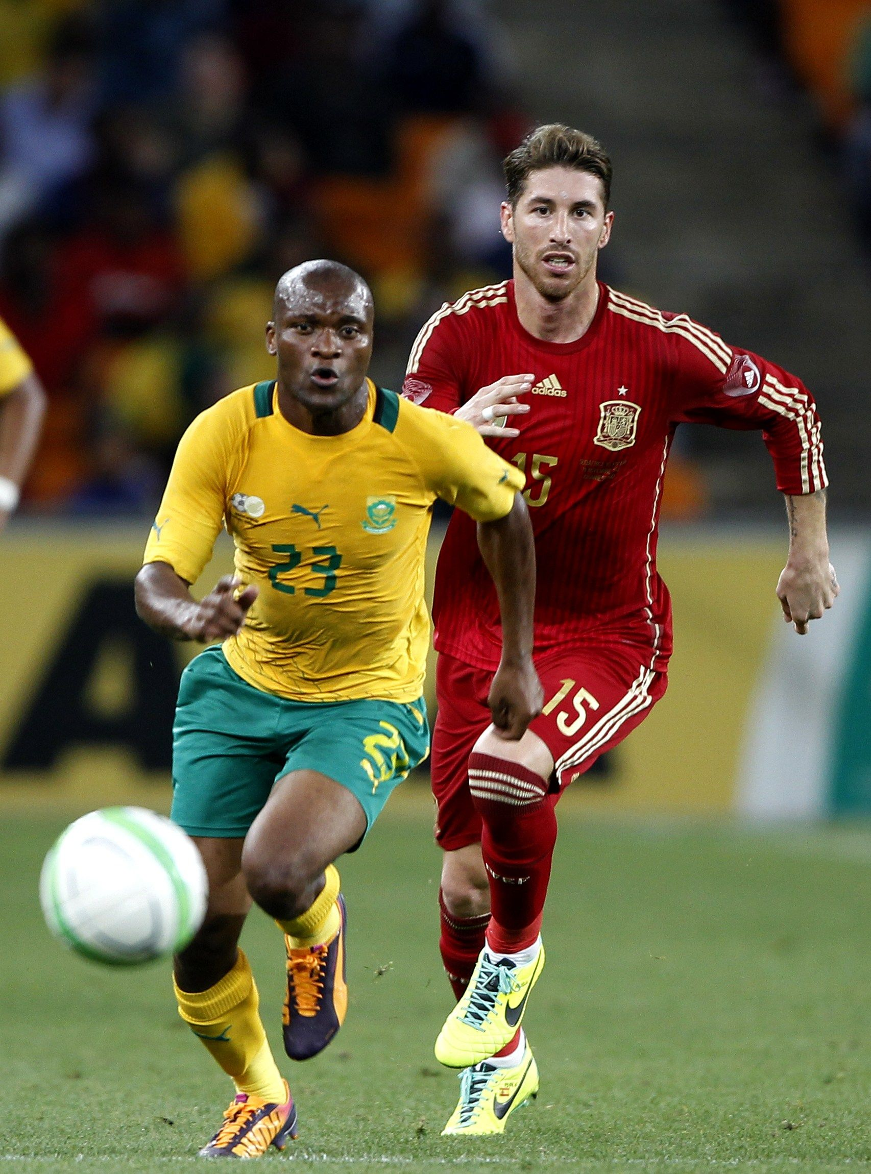 2013 11 19 International Friendly Match Between South Africa And Spain At Soccer City Stadium On November 19 2013 In Jo Soccer City Soccer City Stadium Soccer