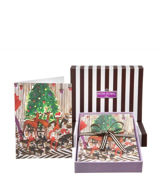 Santa's Helpers 10 Piece Card Set