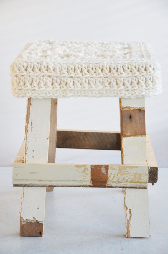 Strange Wood Wool Stool By Woodwoolstool On Etsy Crochet Stool Pdpeps Interior Chair Design Pdpepsorg