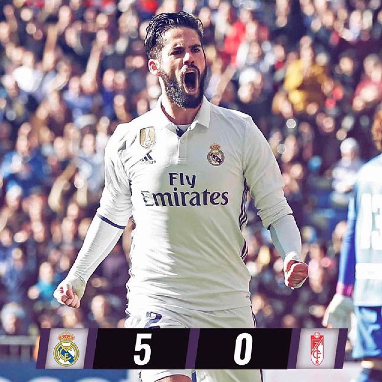 What A Game Today Isco With 2 Goals Benz Cristiano And