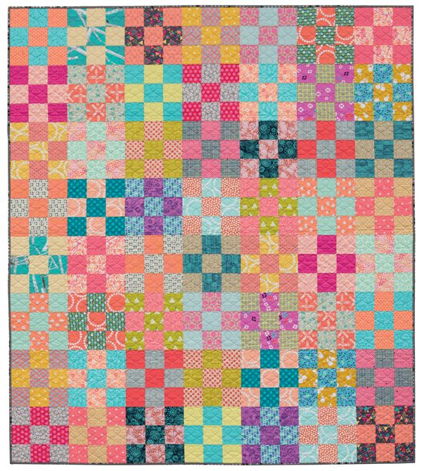 To the Nines Nine Patch quilt