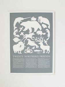 Image of Northern Animals Print
