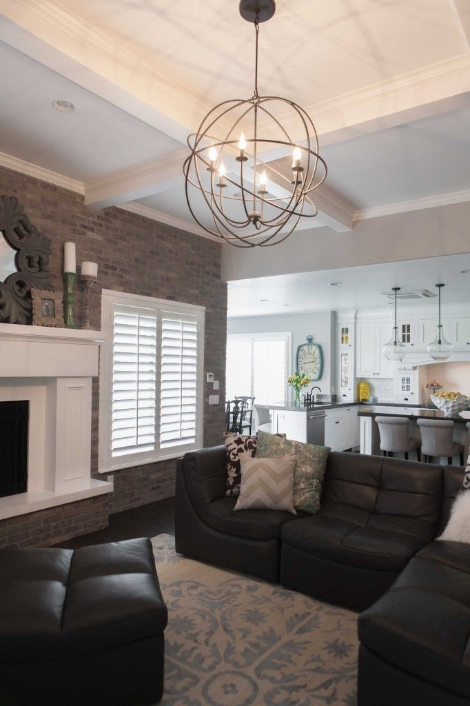 Living Room Lighting Fixtures Small Armchairs For 10 Rules To Create The Perfect White Kitchen See S New House This Is A Simple Orb Chandelier Specific One Leans More Rustic Nice And Though