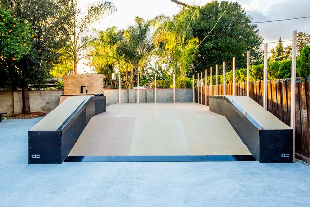 Custom Backyard Skate Park For Kelvin Hoefler, Designed And Installed By OC  Ramps!