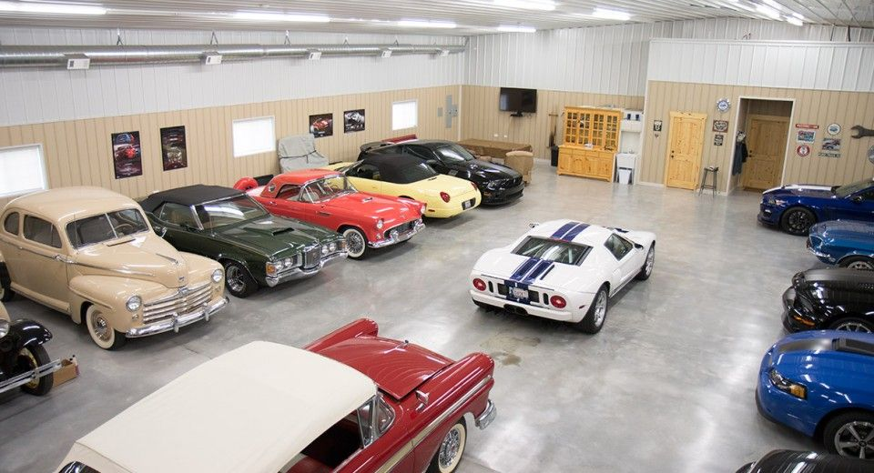 Spiksplinternieuw Morton Buildings Hobby Garage in Broken Arrow, Oklahoma | Hobby MO-47