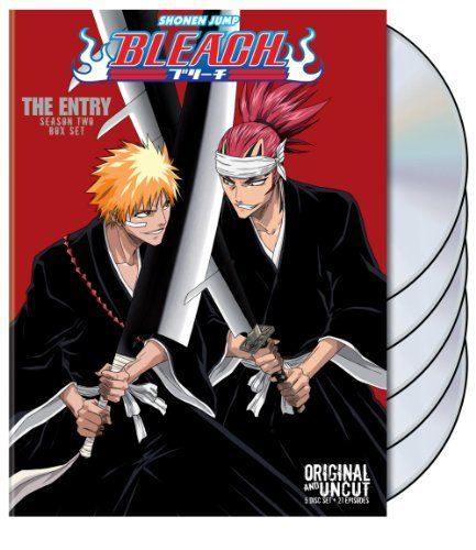 Best Anime Ever Bleach The Entry Uncut Season 2 Dvd Johnny