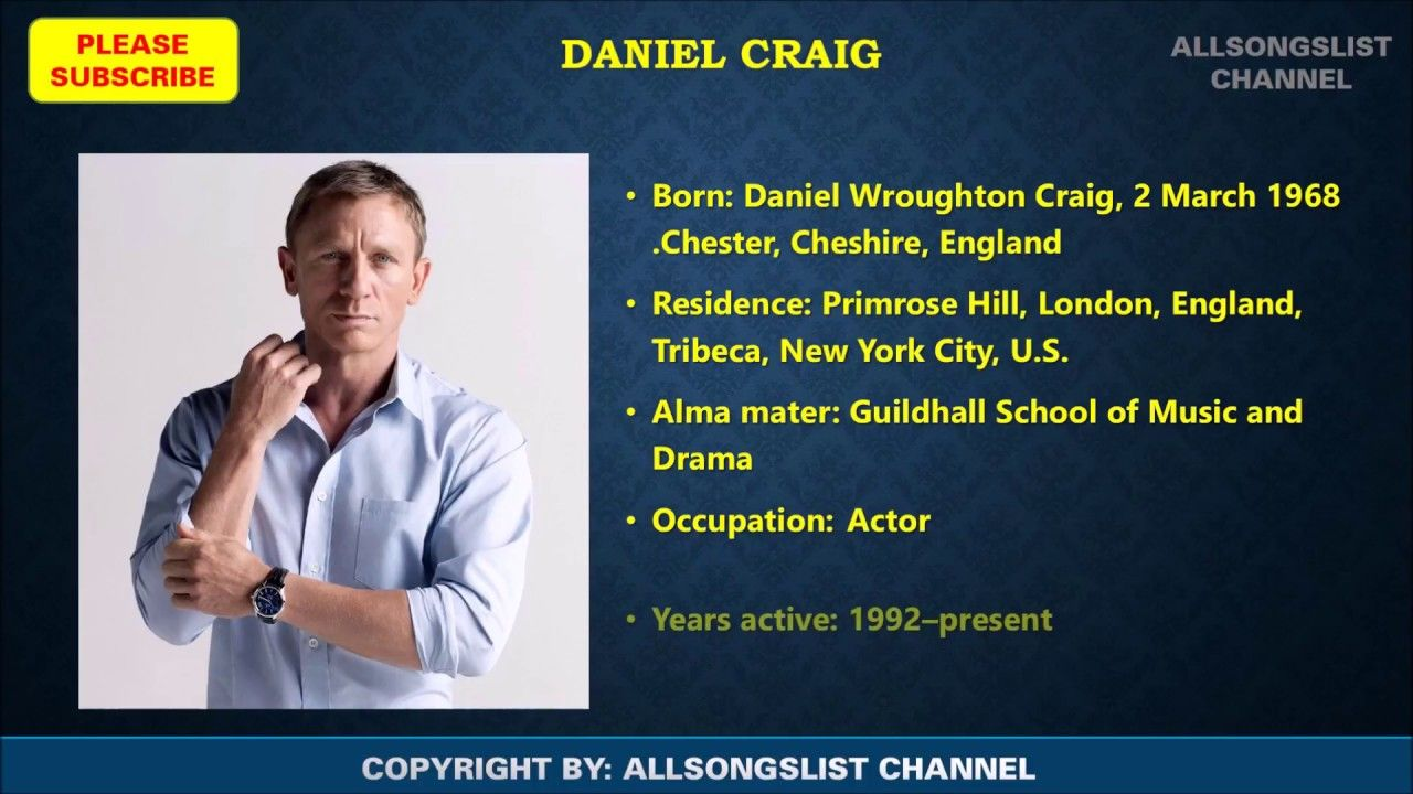 Daniel Craig Movies List Daniel Craig James Bond Movies