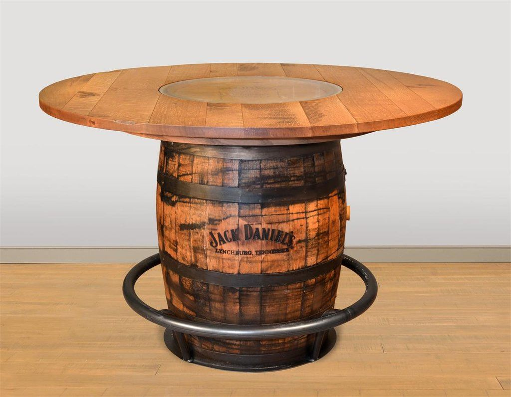 Jack Daniels Barrel Pub Table Whiskey Barrel Coffee Table