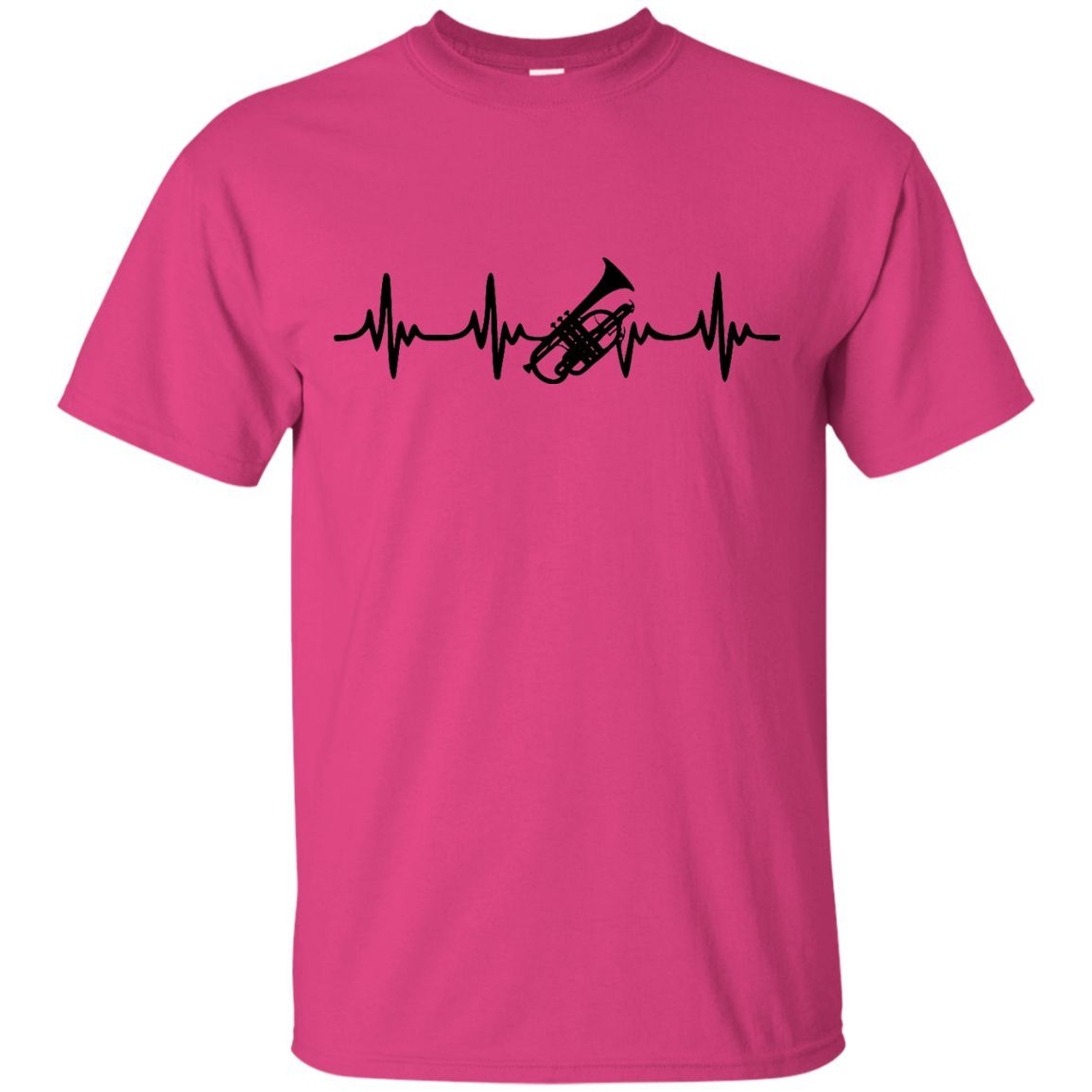 Cornet Heartbeat T-Shirt Black Logo