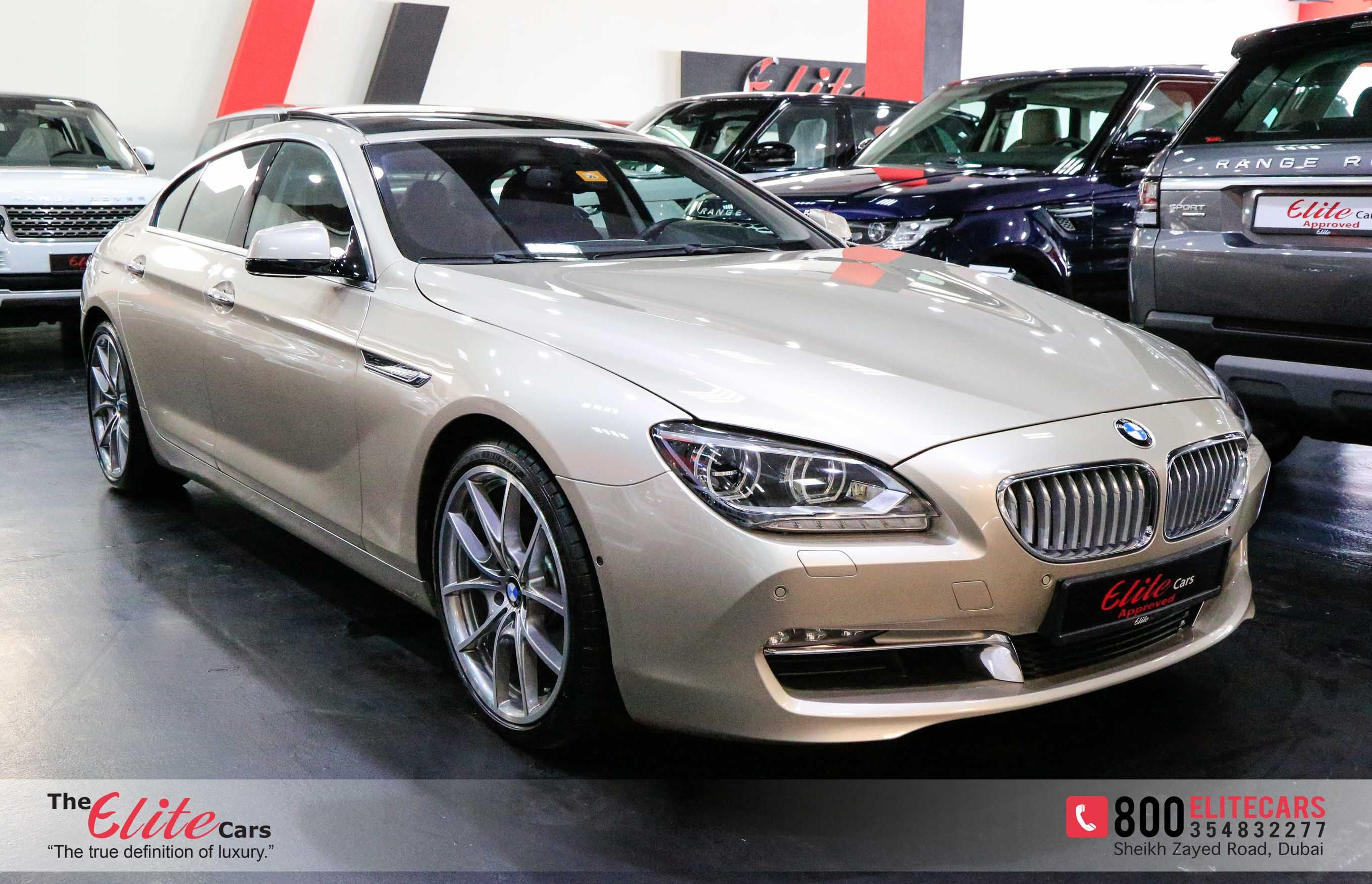 BMW 650i GRAN COUPE LOW MILEAGE WARRANTY AND SERVICE