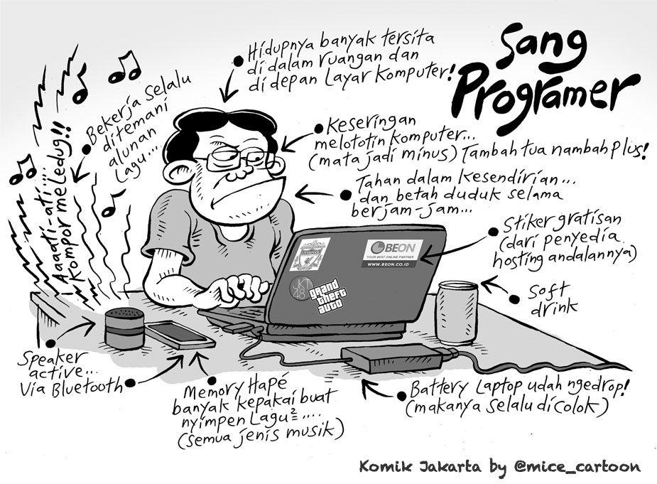 Mice Cartoon Komik Jakarta April 2015 Sang Programer Dengan