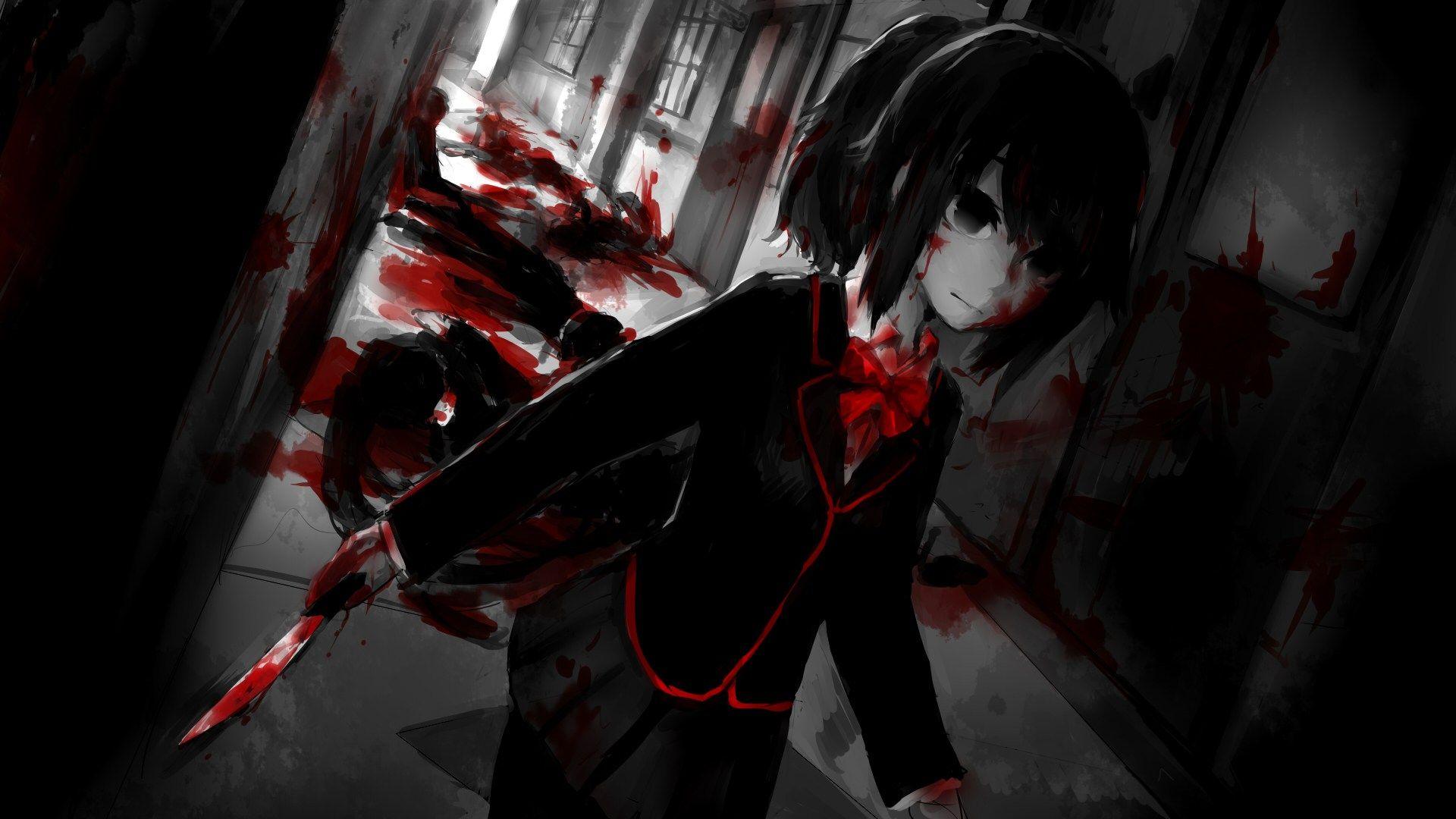 Картинки убийств в аниме