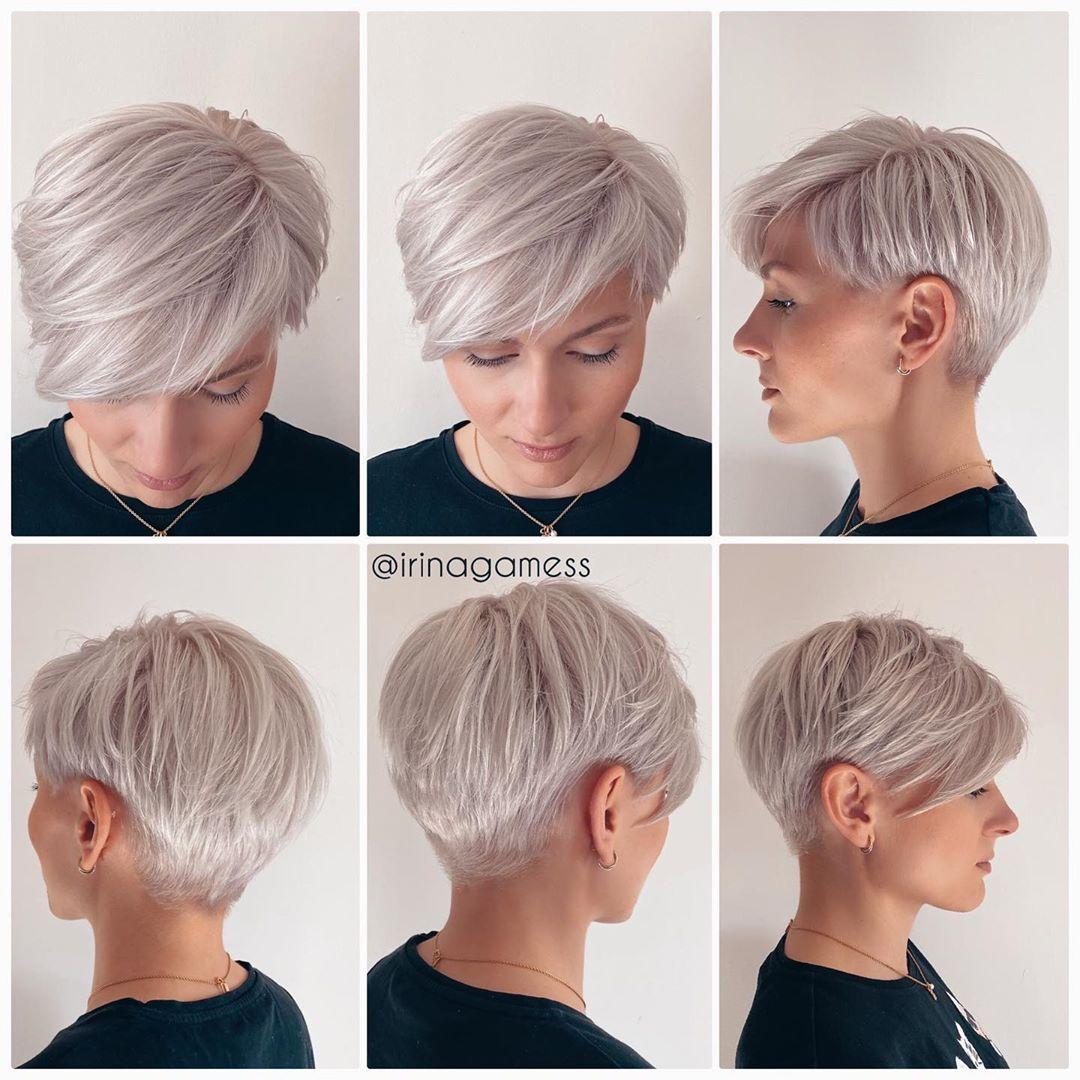 Platinblonde Haare für alle – Sachen die du beachten solltest! Kurzhaar Frisuren – Frisuren Stil Haar – kurze und lange Frisuren