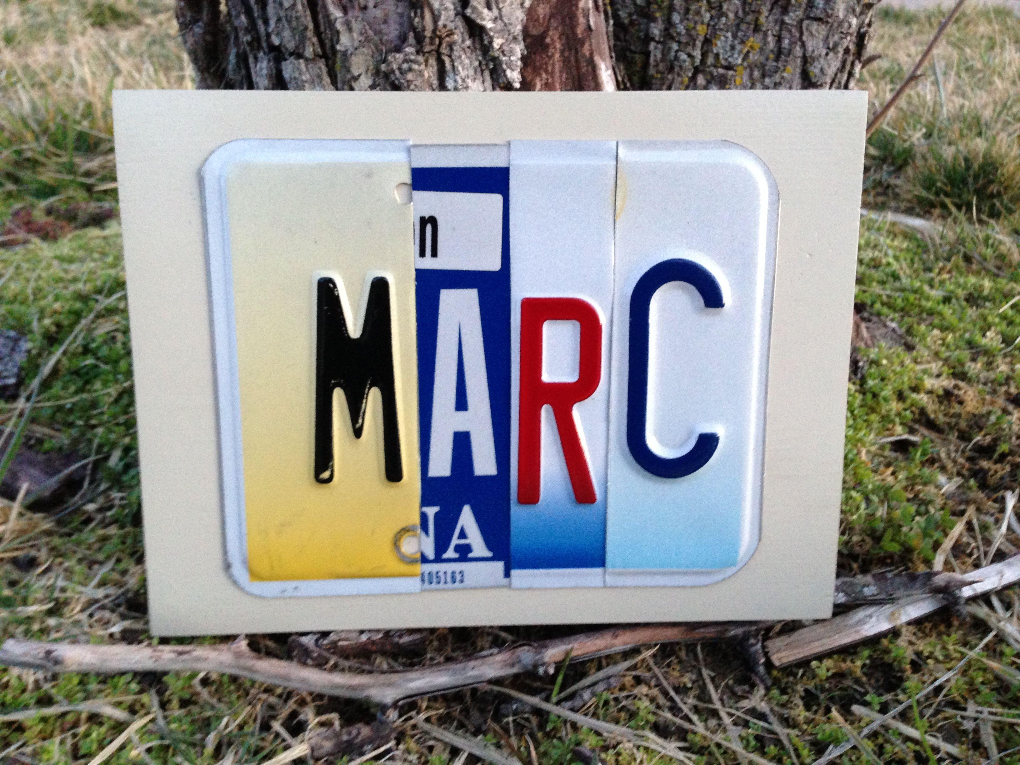 Custom Marc Sign